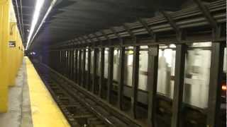preview picture of video 'IRT Pelham Line: R142A 6 Trains at Cypress Ave (PM Rush Hour)'