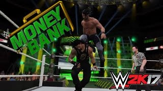 WWE 2K17 Simulation: Roman Reigns vs Seth Rollins MITB 2016