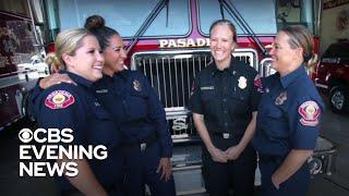 Pasadena Fire Department Staffs All-women Fire Crew For The First Time