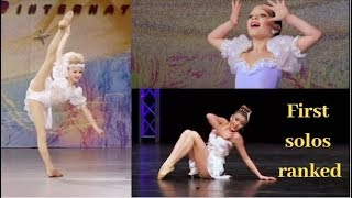 Ranking Each Girl's First Solo on Dance Moms
