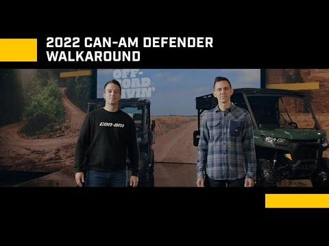 2022 Can-Am Defender MAX DPS HD9 in Savannah, Georgia - Video 1