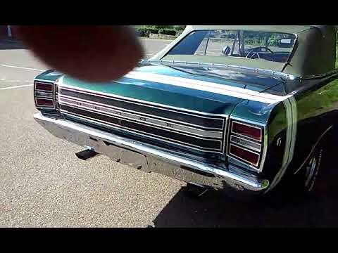 Video of '68 Dart GT - L71A