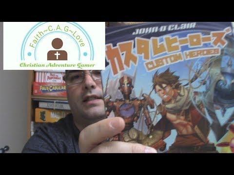 CAG Reviews Custom Heroes by AEG