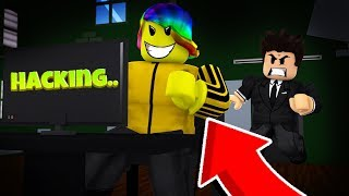 I Had To USE HACKS To Get Away From The EVIL BOSS! (Roblox Dedoxed)