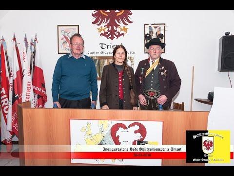Un anno fa s'inaugurava la sede della Schützenkompanie Trient Major Giuseppe de Betta – 29 gennaio 2017 si festeggia in sede dalle ore 10.00 alle ore 13.00 – i Tirolesi sono tutti invitati !