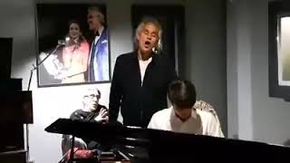"""E lucevan le stelle..."" - Andrea and Matteo Bocelli"