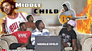 J. Cole   MIDDLE CHILD (Official Audio)(Reaction)