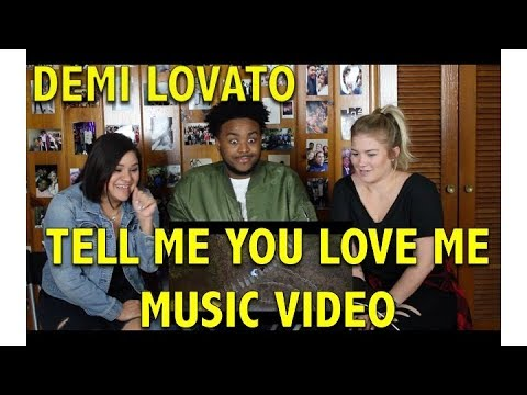 DEMI LOVATO- TELL ME YOU LOVE ME MUSIC VIDEO REACTION/REVIEW