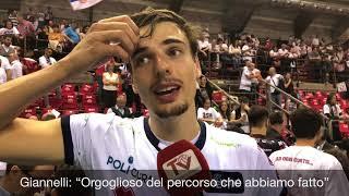 Lanza, Giannelli e Lorenzetti dopo gara 5 di Semifinale a Perugia