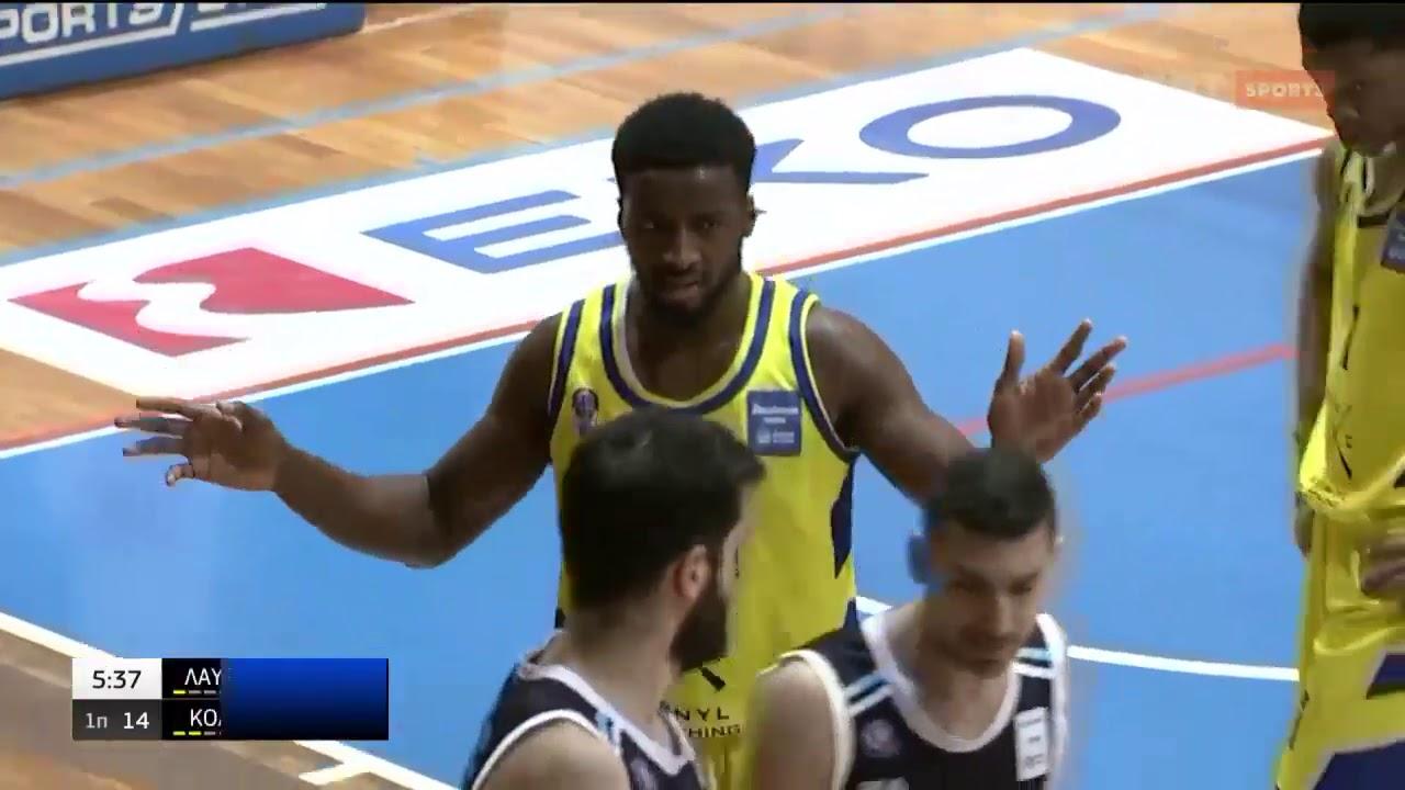 Basket League   Λαύριο – Κολοσσός   10/03/2021   ΕΡΤ