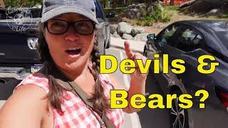 Class C RV Life at  Devils Tower South Dakota// Creation Stories
