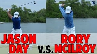 Jason Day Vs. Rory Mcilroy Golf Swing | Complete Analysis