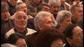 16-й Съезд Союза художников Казахстана. 23 апреля 2009. Из архива Лидии Коваленко