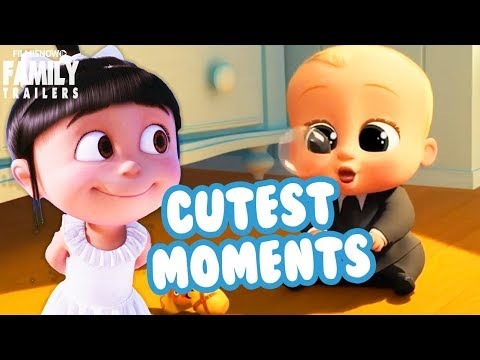 CUTEST MOMENTS From Animated Family Movies 2017