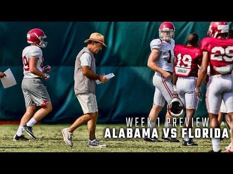Week 1 Preview: Alabama vs. Florida State