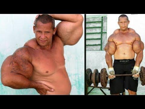 Extreme bodybuilding: People who have taken bodybuilding too far - TomoNews
