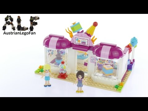 Lego friends 41132 pas cher la magasin de heartlake city - Lego friends l ecole ...