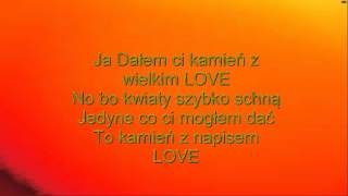 Enej   Kamień Z Napisem LOVE (tekst)