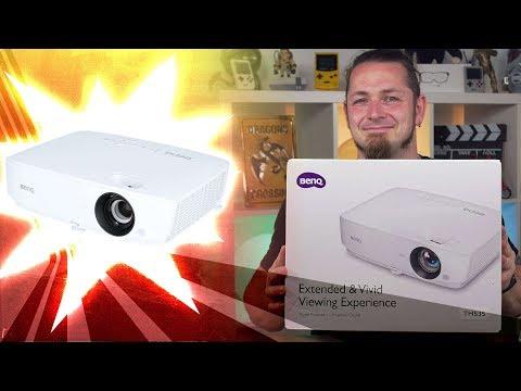 Lohnt sich ein Full-HD Beamer in 2019? 🎥 BENQ TH535