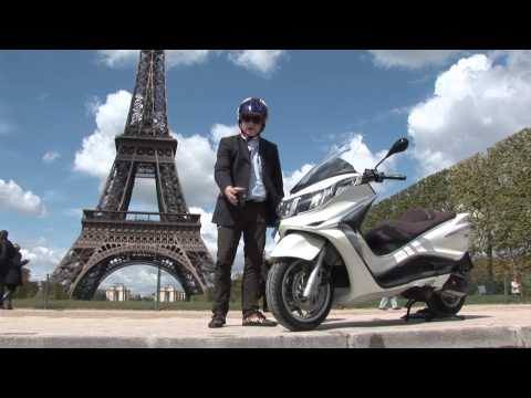 2012 Piaggio X10 full review by Tor Sagen in Paris