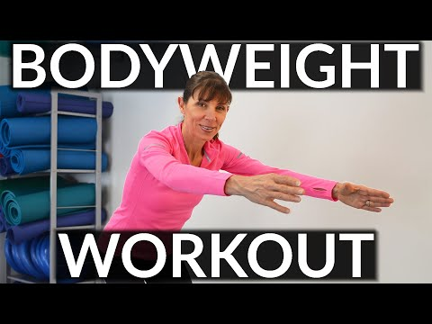 Beginners Body Weight Exercises for Women - Whole Body Strengthening Routine
