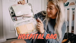 PACKING MY HOSPITAL BAG! | MUST HAVE HOSPITAL BAG ITEMS!