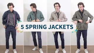 5 Jackets for Spring and Summer (and How to Wear Them)