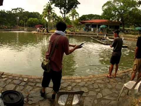 20120923 Pasir Ris Pond Fishing 1