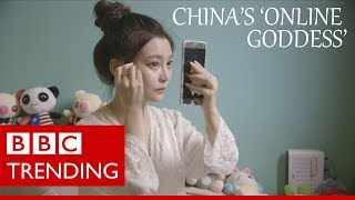 Lele Tao: China's 'online goddess' on $450k a year - BBC Trending (Full video)