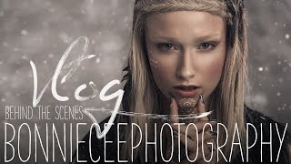 VLOG | Behind The Scenes - WINTER Editorial Photo Shoot | BONNIE CEE PHOTOGRAPHY