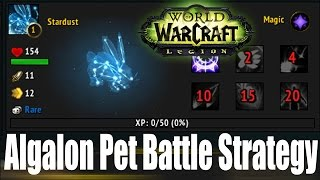 WoW Legion: Algalon Pet Battle Strategy Guide