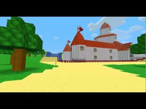 Super Mario 64 Peach S Castle Minecraft Project