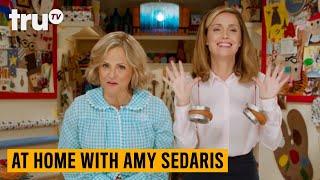 At Home with Amy Sedaris - Donut Bird Feeder (ft. Rose Byrne) | truTV