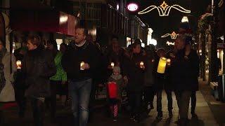 Lichtjestocht Kersthuis 2016 - Langstraat TV