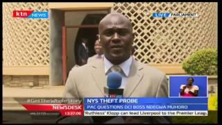 NewsDesk: PAC questions DCI  Ndegwa Muhoro over NYS Theft Probe interview 05/10/2016