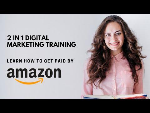 Digital Marketing Course with Amazon ATES training - YouTube
