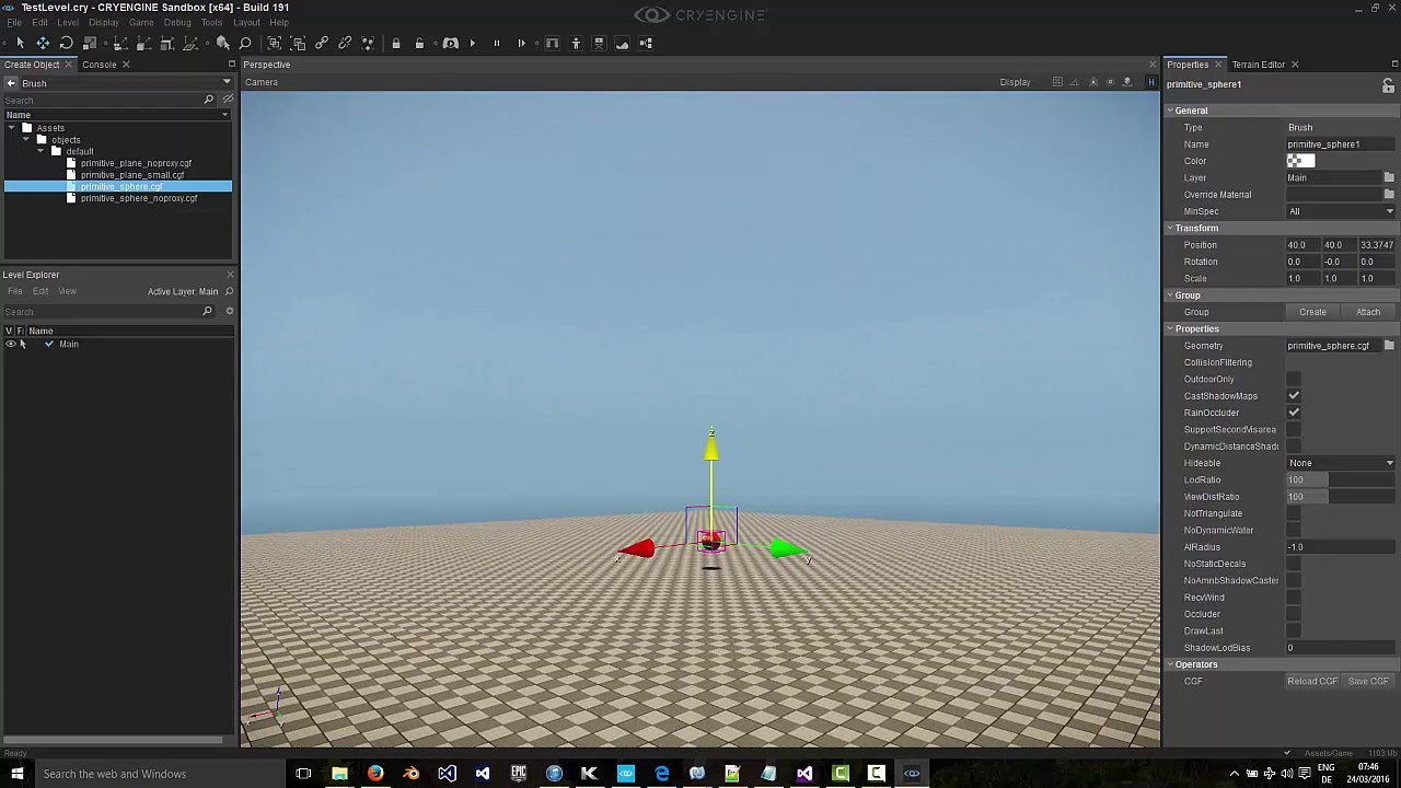 Game From Scratch C# tutorial in CRYENGINE V