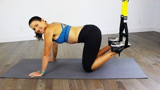 TRX Kick Ass 'N Abs Workout by shortcircuits with Marsha