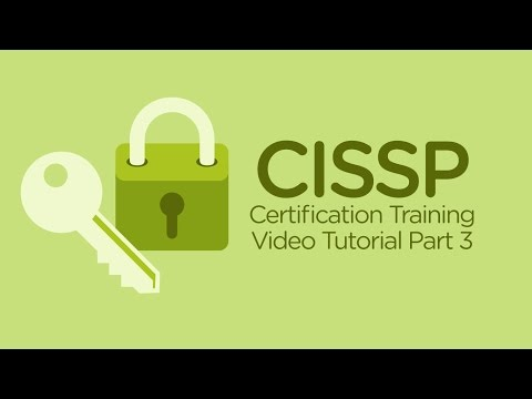 Free CISSP Training Videos | CISSP Tutorial Online Part 3 - YouTube