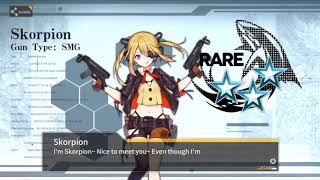 MDR  - (Girls' Frontline) - Girls Frontline - Crafting For Cores With New T-Doll Batch (With MDR, XM8, CBJ-MS, Type 100, And K5)