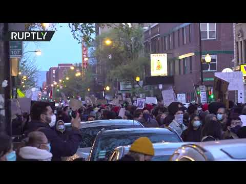 Chicago rally in protest over fatal shooting of 13-year-old Adam Toledo
