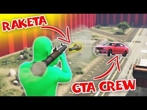 RAKETOVÁ KARMA! w/ Bax, Ment, Wedry   GTA Online