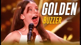 Emanne Beasha: Jay Leno STUNNED By 10-Year-Old Slams His GOLDEN BUZZER   America's Got Talent 2019