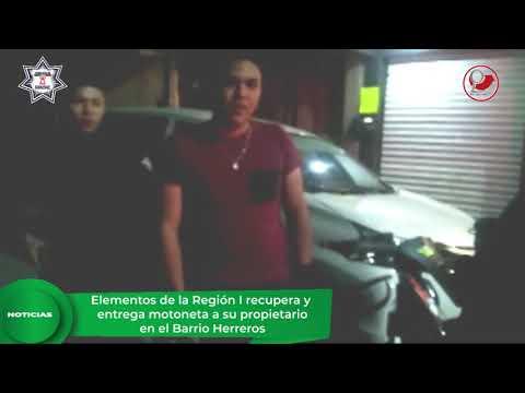 Policía de Chimalhuacán recupera vehículo