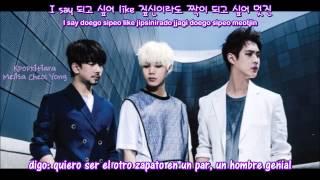 Hey U MBLAQ (엠블랙) [Sub español + Romanizacion + Hangul]