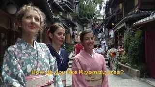 Travelers' Voice of Kyoto: KIYOMIZU DERA Area Interview013 Autumn08