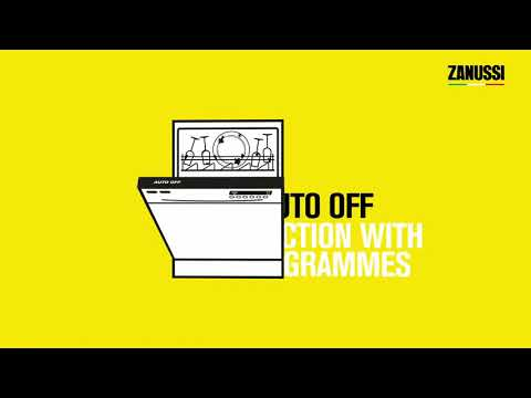 Zanussi Built In 60 Cm Dishwasher Fully ZDLN2521 - Fully Integrated Video 1