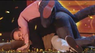 uk got talent golden buzzer comedian - TH-Clip