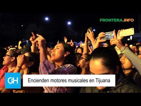 Encienden motores musicales en Tijuana Los Claxons