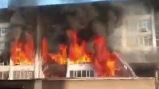 Пожар в Ташкенте 23 февраля 2017 года
